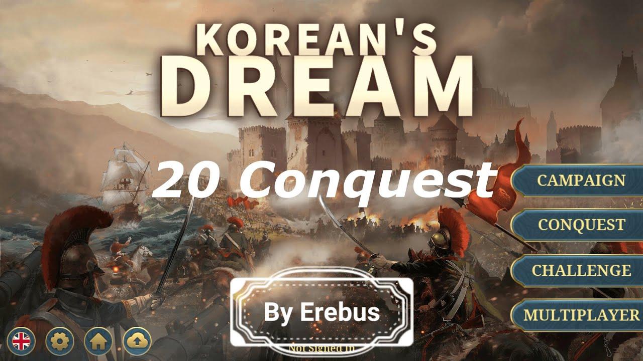 European War 6 Korea Dream Mod 20 Conquest Version(유럽전쟁 6 한국의 꿈 모드)