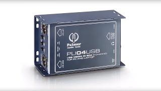 Palmer Audio Tools at prolight + sound 2016 - PLI 04 USB DI-BOX/LINE ISOLATOR