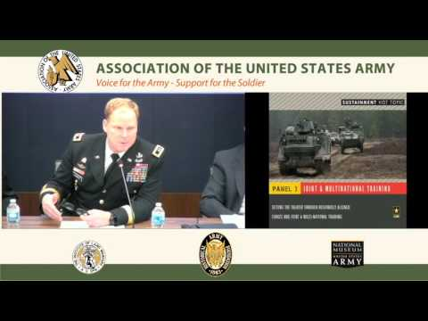 Army Force Projection & Sustainment Hot Topic 2016 – Panel 3