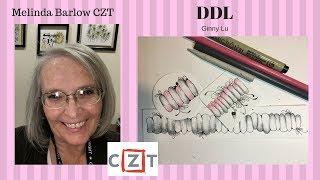 Zentangle Art Lesson DDL Tangle Pattern #318