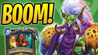 Beasts for Days! | Secret Boom-Zooka Hunter w/ Zul'jin & Revenge of the Wild | Rastakhan's Rumble