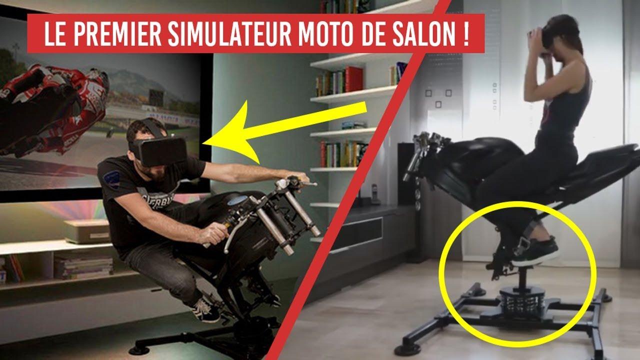 leangp le premier simulateur moto de salon pour ps4 xbox one et pc youtube. Black Bedroom Furniture Sets. Home Design Ideas