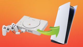 PS1 to PS5 - The Evolution of PlayStation