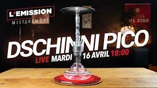 La nouvelle chicha Dschinni Pico 😮💨🔴 LIVE 🔴