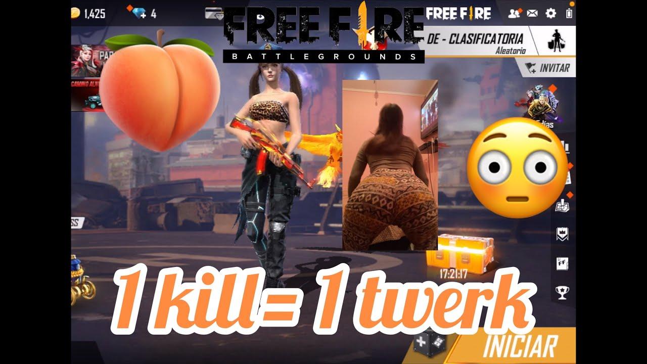 Download Bailo TWERK 🍑 por cada KILL que me haga en FREE FIRE - 1 KILL= 1 TWERK 🍑🔥😈