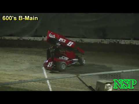 July 20, 2018 600 Open Mini Sprints B-Main Deming Speedway