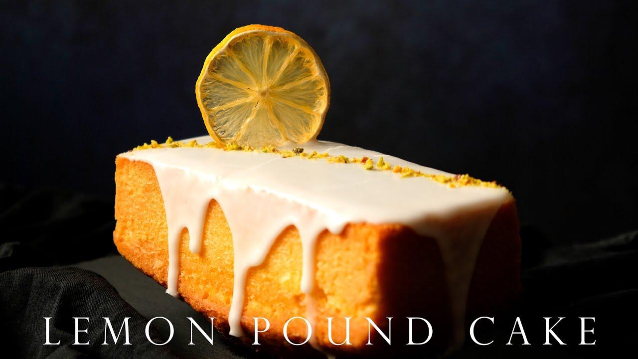 檸檬糖霜磅蛋糕 烘焙新手必學 ┃Classic Glazed Lemon Pound Cake