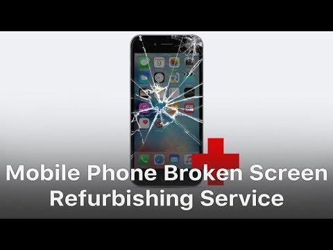 Mobile Phone Broken LCD Screen Refurbish Service - REWA