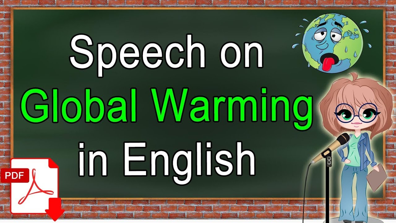 global warming essay in english pdf