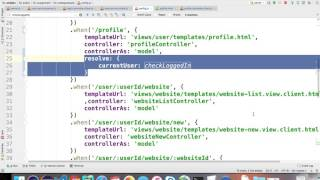6 7 securing navigation to profile view with passport js in a MEAN app   undergrad webdev summer 1 2