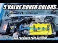 5 JDM VALVE COVER COLORS AND THE SHOPS THEY BELONG TO