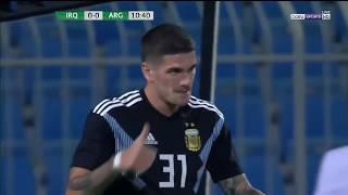 Rodrigo de Paul vs Irak - Debut en la Selección Argentina - 11/10/2018
