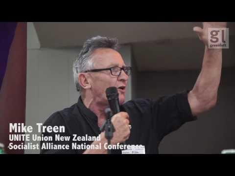Mike Treen speaks on building Unite Union in Aotearoa New Zealand