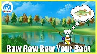 Row Row Row Your Boat | Nursery Rhyme & Kid Song