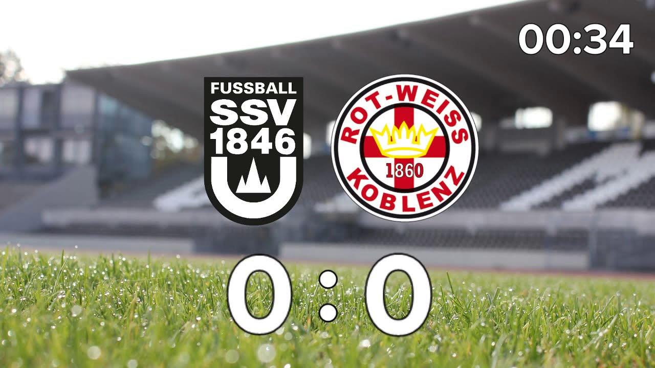 Ssv Ulm 1846 Fussball Tus Rot Weiss Koblenz