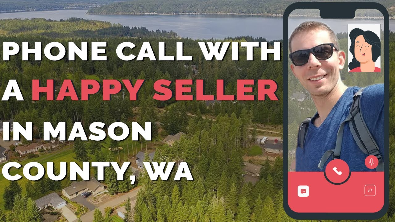 How to Sell a Land in Mason County? | Seller's Feedback I Call 206-531-3277