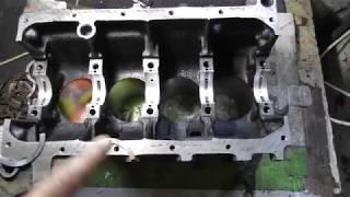 Двигун до ВАЗ 2110 в ремонті Частина 3