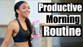Productive & Mindful Morning Routine ft. Teami  | Brittany Daniel