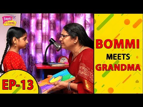 bommi's-rendevous-with-grandma- -anime-romance-live-action-trailer,kids-live-tv-channels-ep-13