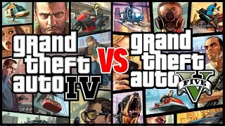 GTA IV is Better than GTA V - Compilation Gameplay