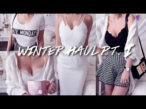 HUGE (warm weather) WINTER TRY-ON HAUL PART 1 | EDGY CHIC STUFF from LULU*S, NYCT & MORE!