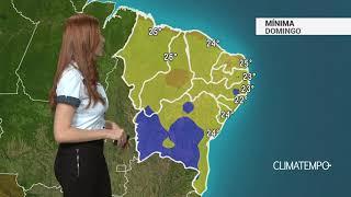 Previsão Nordeste – Umidade baixa pelo sertão nordestino