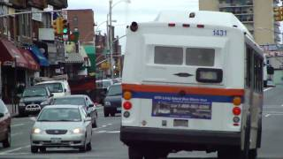mta long island bus 1997 orion v cng 1431 on the n6 hillside avenue 165th street
