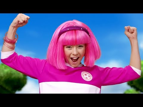 Lazy Town I Stephanie sings Season 3 Classic Lazy Cup All Together | Lazy Town Songs