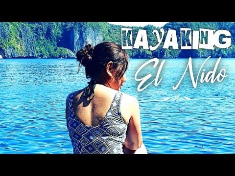 Download EL NIDO ISLAND HOPPING TOUR A! KAYAKING IN SMALL LAGOON, PALAWAN PHILIPPINES