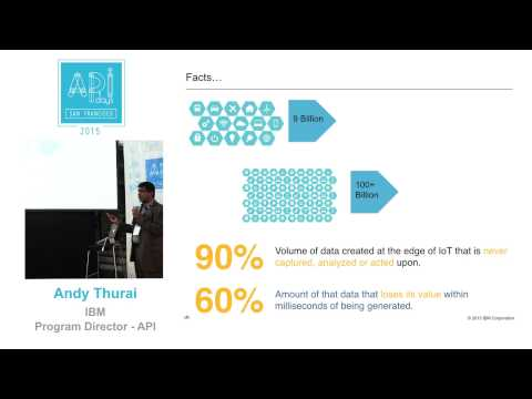 Bringing your ideas to life in digital economy - Andy Thurai at API Days SF 2015