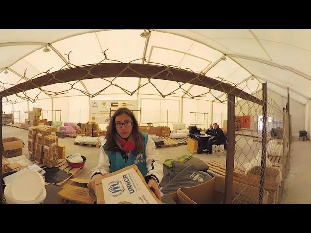 Un vídeo 360º recrea la huida de un bombardeo en Siria