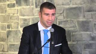 LUCIAN BUTE -'IM GOING TO BECOME 2x WORLD CHAMPION IN MY HOME TOWN' / DeGALE v BUTE