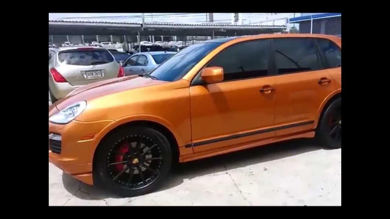 Porsche Cayenne Gts Orange 2008 Puerto Rico Youtube