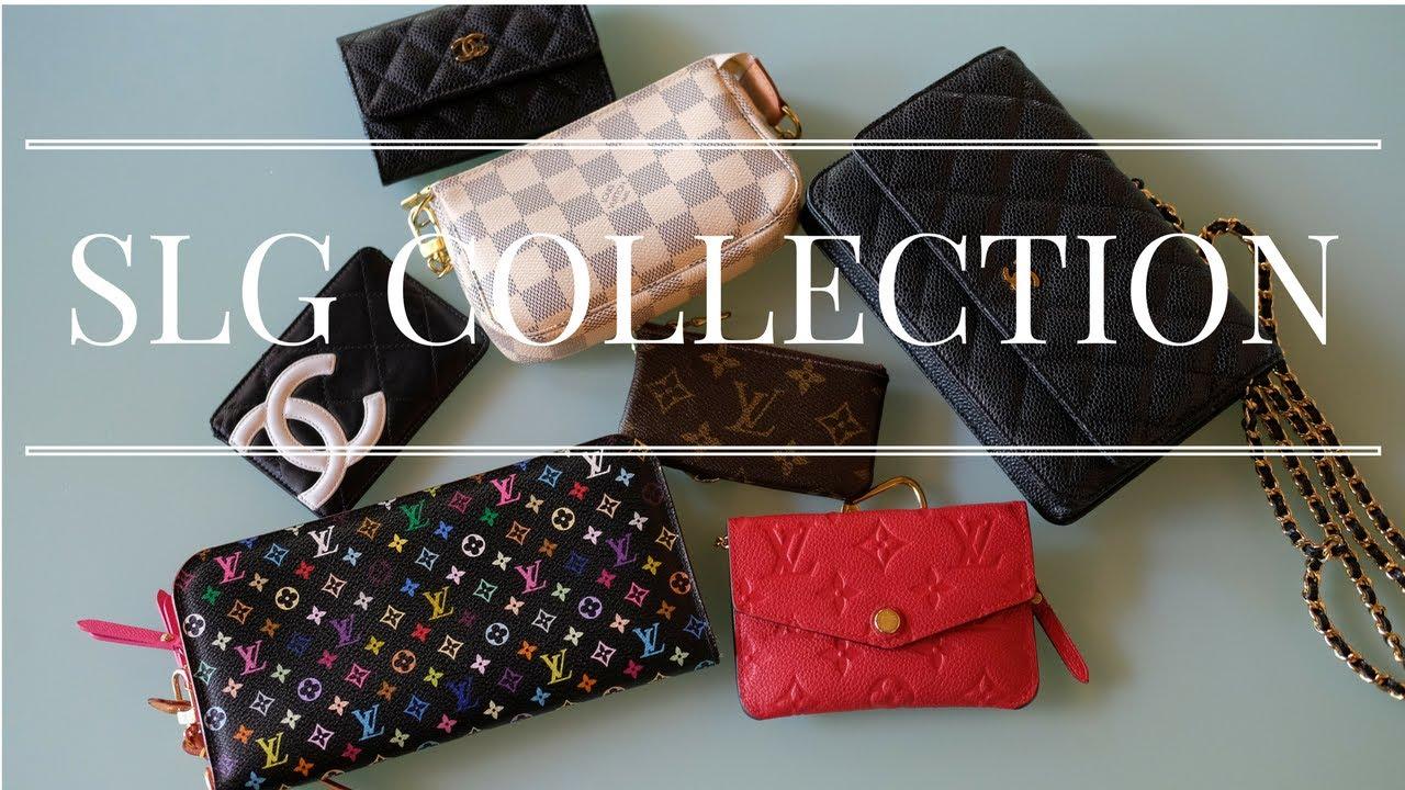 c7a9b3063e63 My SLG Collection (LV, Chanel, Ferragamo) - YouTube