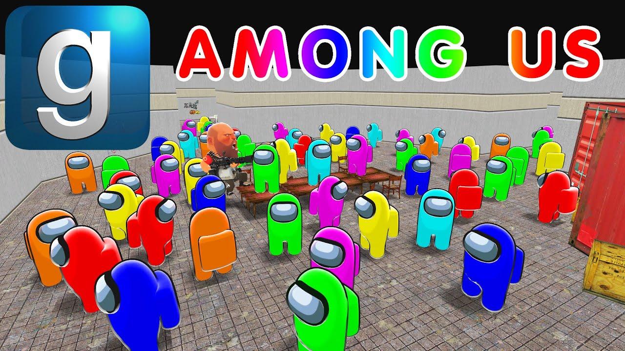 Among Us À¹ƒà¸™ Gmod Garry S Mod Multiplayer Gameplay Youtube