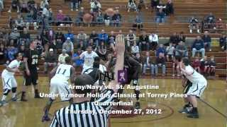 Army/Navy vs. St. Augustine, Under Armour Holiday Classic Quarterfinal, 12/27/12
