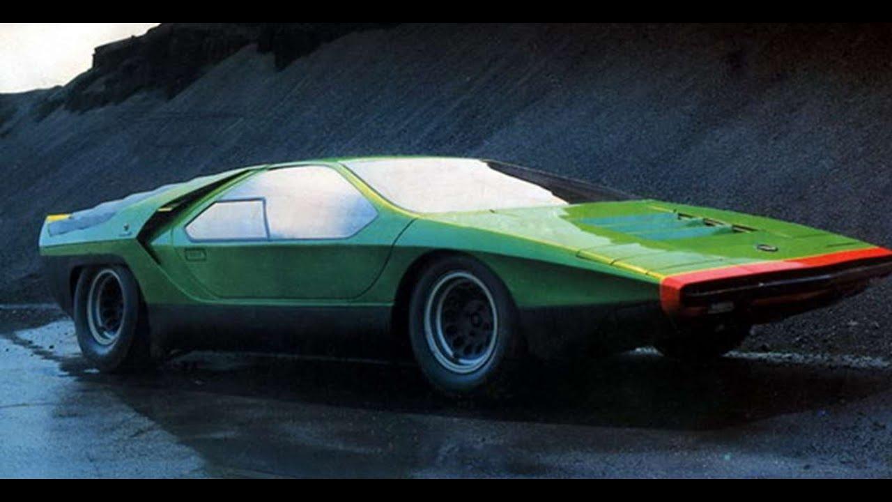 2598 alfa romeo carabo 1968 prototype car youtube