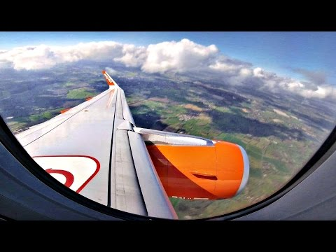 EasyJet A320 TRIPLE DIVERSION: LGW-DLM-ATH-PFO | Trip Report/Gopro Wing View | 6 Takeoffs/Landings!
