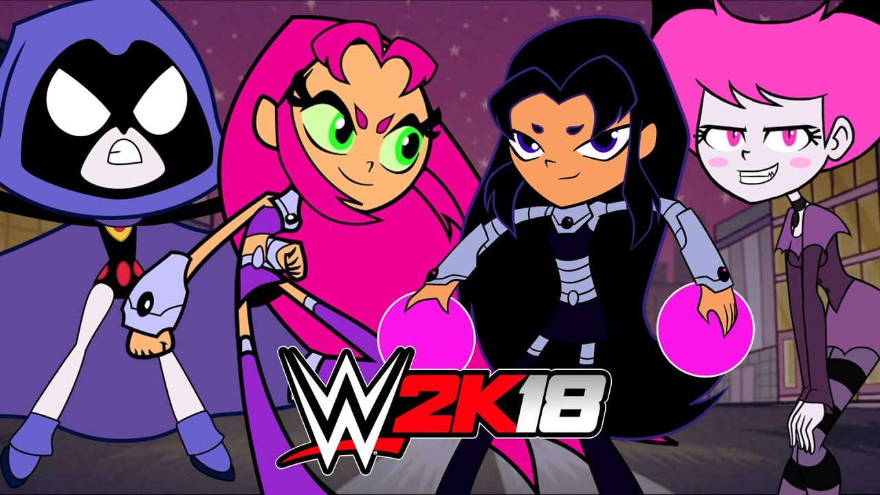 Wwe 2K18  Teen Titans Go - Youtube-2652