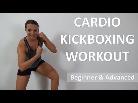 Cardio Kickboxing Workout – 40 Minute Maximum Calorie Burning Kickboxing Workout
