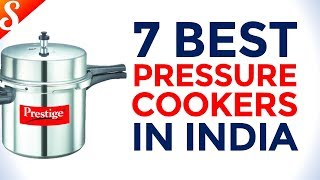 7 Best Selling Pressure Cooker Brands in India with Price