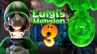Luigi's Mansion 3  #2 - SZALONY MAŁY PROFESOREK