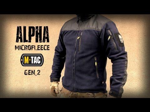 видео: Универсальная куртка alpha microfleece gen.2 от бренда М-ТАС