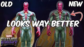 VISION REWORK FIRST LOOK! MYTHIC TIER DAMAGE? - Marvel Future Fight