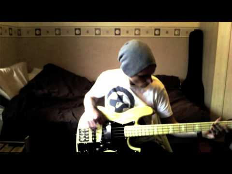 How to play Higher Ground by Stevie Wonder on bass guitar (cover)