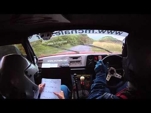 John Warren & Ruthann O'Connor, Sligo Stages Rally 2012 Highlights, Part 1