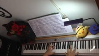 #5 Xin hãy rời xa - Uni5 - piano cover by W.T. (free sheet download)