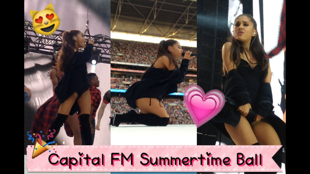 ariana grande - problem - @ capital fm summertime ball 2015 - youtube