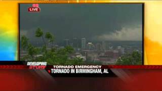 The Weather Channel Coverage of the Birmingham, AL Tornado