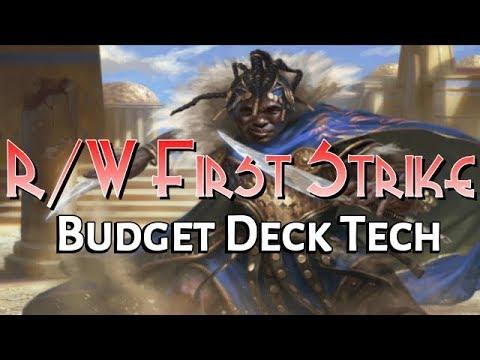 Mtg Budget Deck Tech: $25 R/W First Strike in Dominaria Standard!